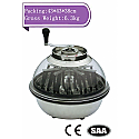 Manual Crystal Big Bowl Trimmer- Spin pro Pro cut Style